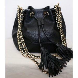 Rebecca Minkoff Classic Pebbled Drawstring Bag